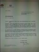 LETTERA DI CONFINDUSTRIA AL SINDACATO ISA